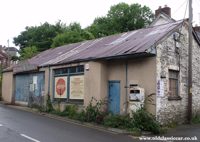 The Pioneer Garage, in Cardigan