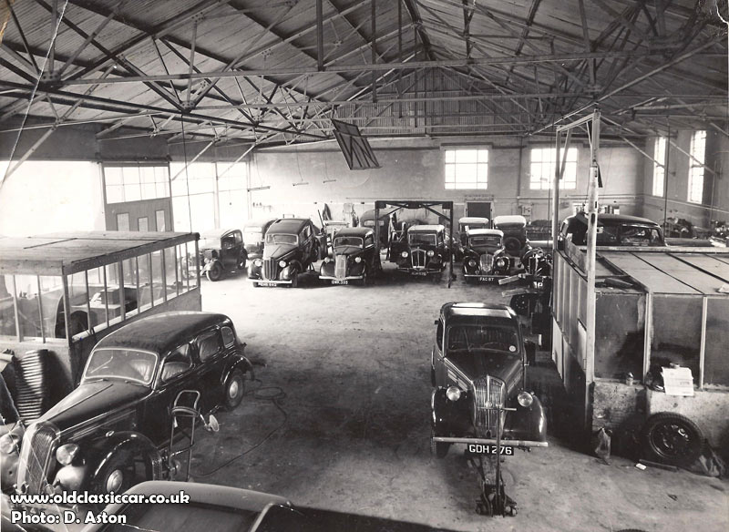 Old Austin Car Garages From The 1940s And 1950s