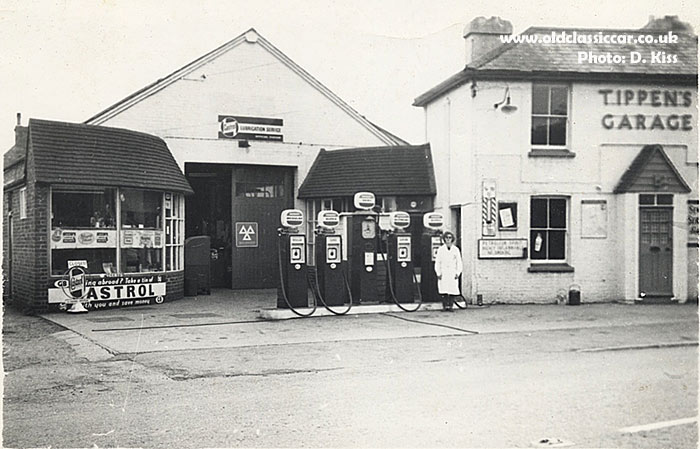 Tippen's Garage in the early 1960s