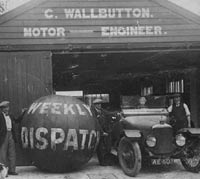 Wallbutton's Garage in Burnham-on-Sea