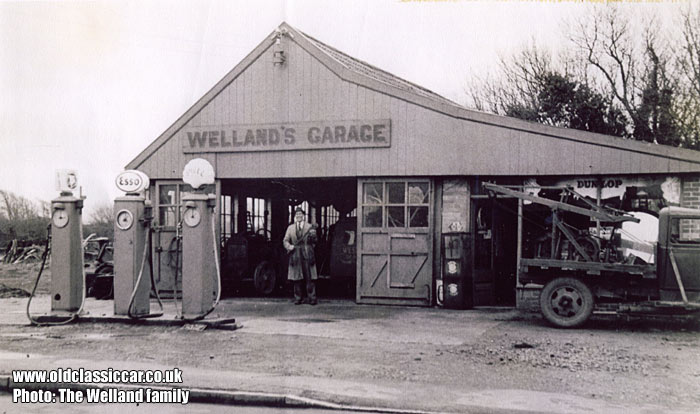 The garage in 1948