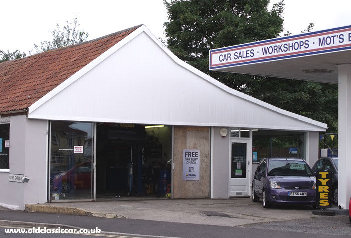 Triangle Garage, as it is now known
