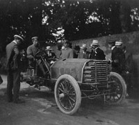 Peerless racing car