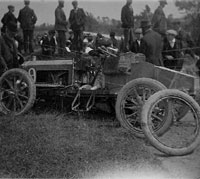 One of the Napiers after its crash