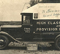 Chevrolet AD Series van bodied by Creasey & Son
