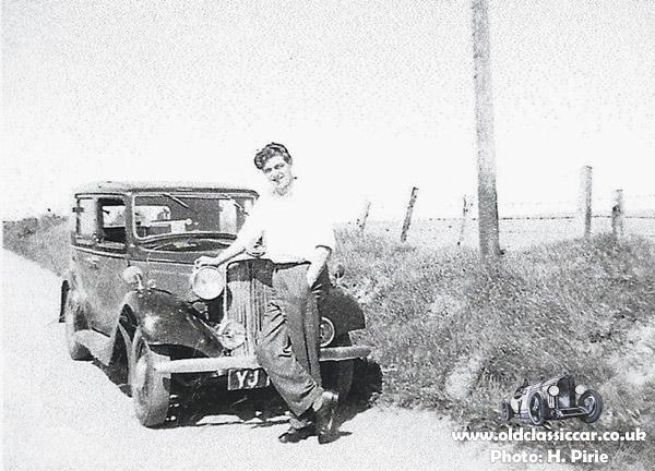 The 1934 Minx car