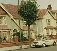 A 1965 Imp parked in Llandudno, 1968