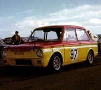 George Windrum's Hillman Imp at Bishopscourt