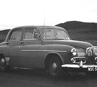 Another photo of the Humber Hawk