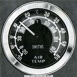 Smiths air temperature gauge