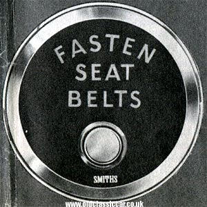 Seat belt warning