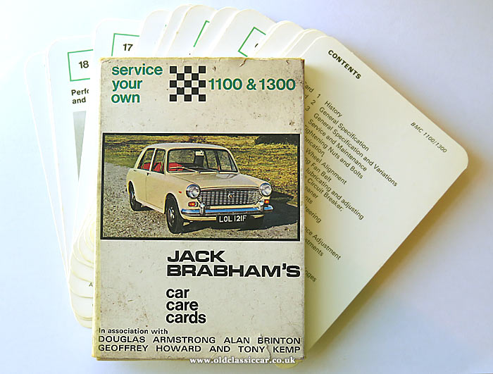 Jack Brabham car care cards