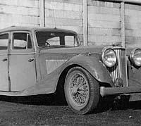 SS Jaguar 2.5 Litre saloon