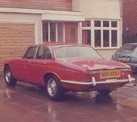 Rear view of 1971 XJ6