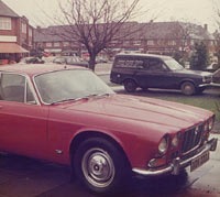 Front view of an XJ6 Series 1