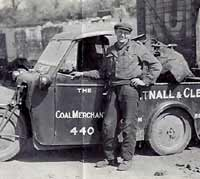 Coal delivery truck