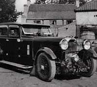 A 1932 Lagonda 16/80 saloon