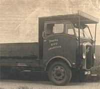 Diesel-engined Arran lorry