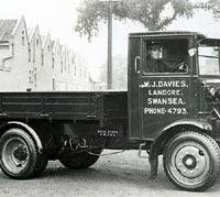 A Garner truck in Wales