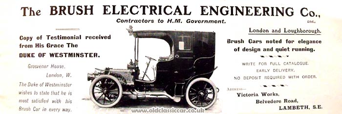 The Brush electric car of 1903