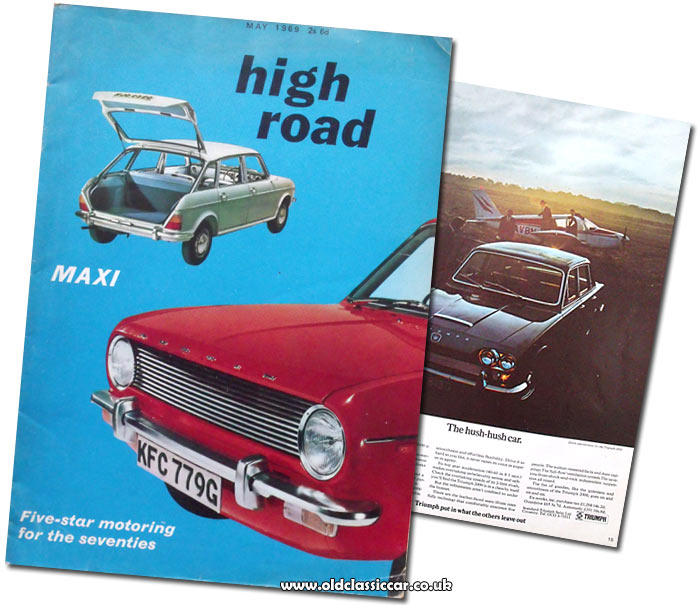 Cover of High Road magazine, 1969