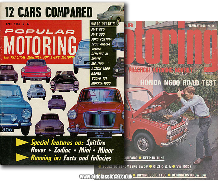 Two magazines covers