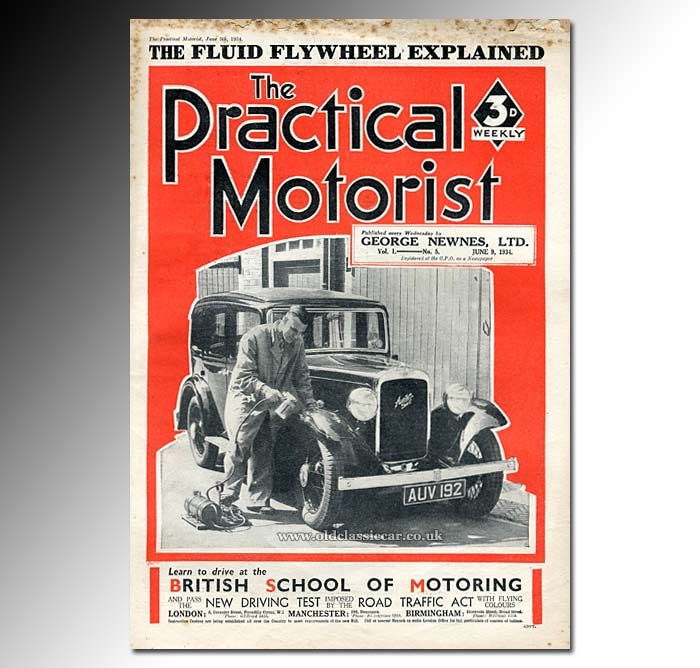 1934 copy of The Practical Motorist