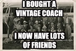 Vintage coach travel
