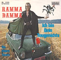 The Mercedes also features on a Ramma Damma album cover