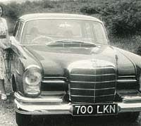 Fintail Mercedes