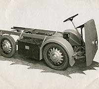 Metropolitan Vickers electric van chassis