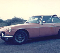 MGB GT side view