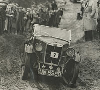 Competing in a VSCC trial