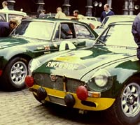 MGC car registration RMO 699F