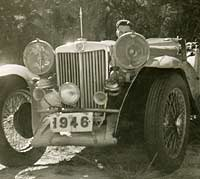 A modified MG TC in 1949