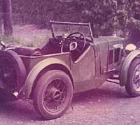 Rear view of the MG