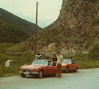 Driving two MGs through the Pyrenees
