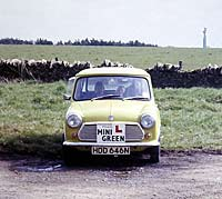 Front view of a Mk3 Mini
