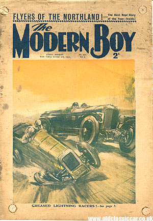 Modern Boy comic from 1931