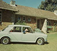 Side view of an 1100