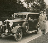 A second photo of the Morris Oxford Six
