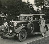 buckeltaunus cabrio 1950