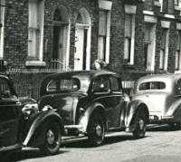 Parked Morris Series E