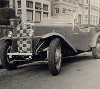 Morris Ten Cunard