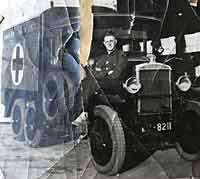 Morris-Commercial D-Type ambulance