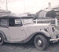 Morris 8 tourer in Australia