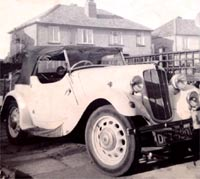 Morris 8 Series 2 tourer