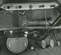 Smiths heater unit fitted to the Morris