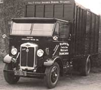 A brand new Morris cattle wagon