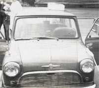1964 Morris Mini-Minor front view